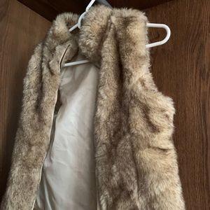 Faux-Fur Zara vest